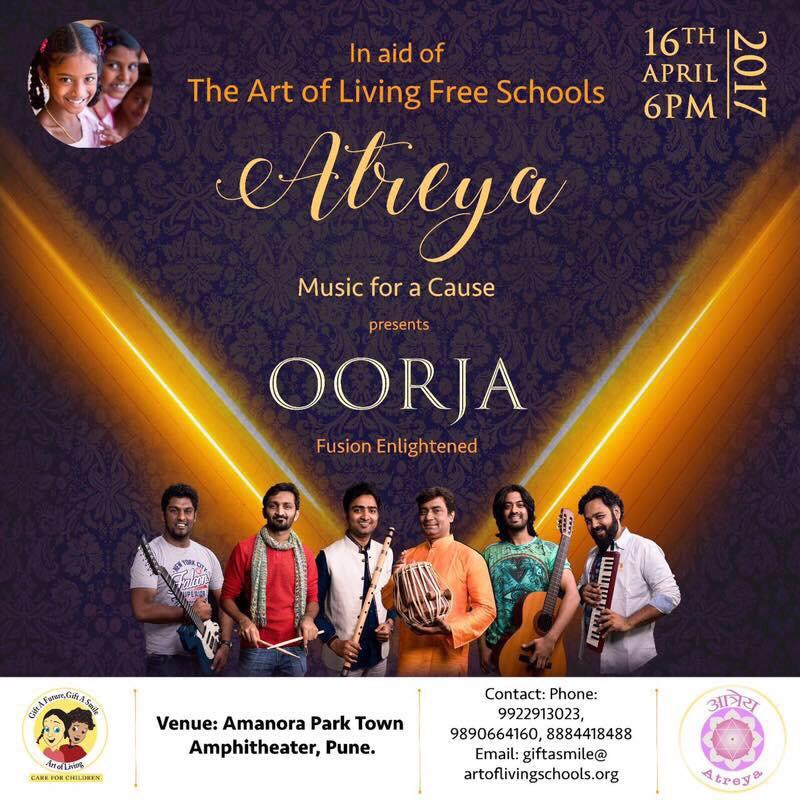 2017 Atreya concert Oorja