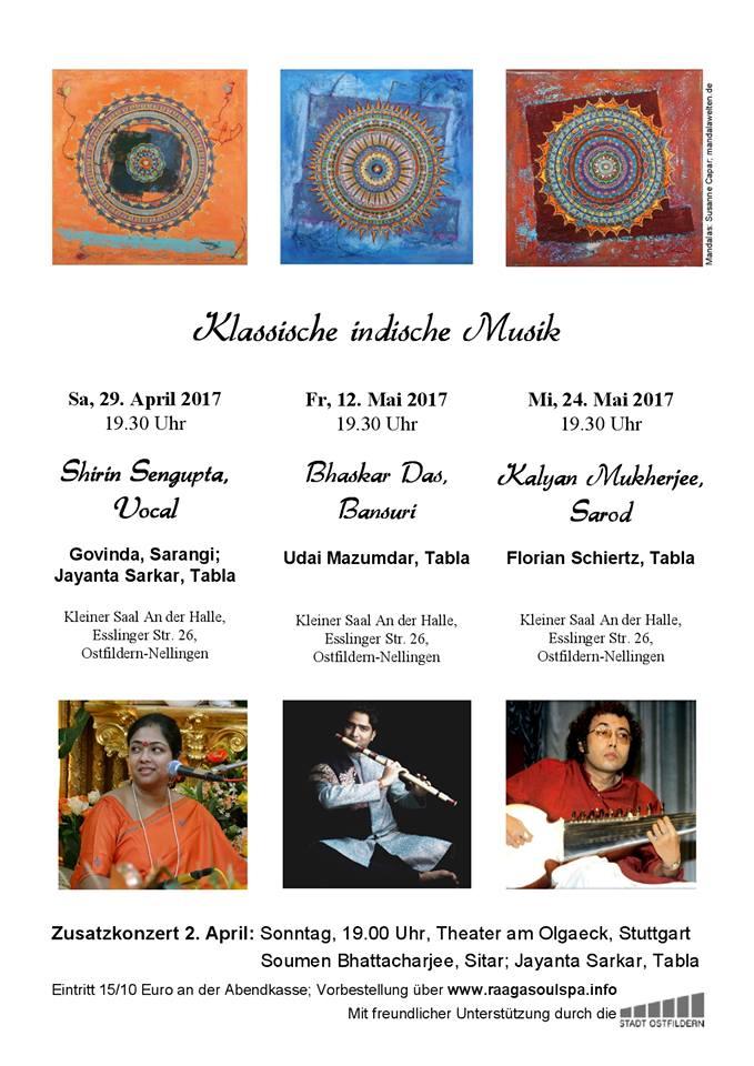 2017 Concert Stuttgart Bhaskar Das