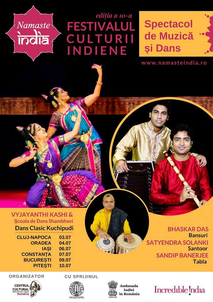 Namaste India Festival Romania 2018